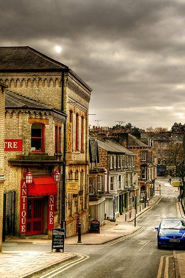 Wintery Afternoon in Harrogate,UK