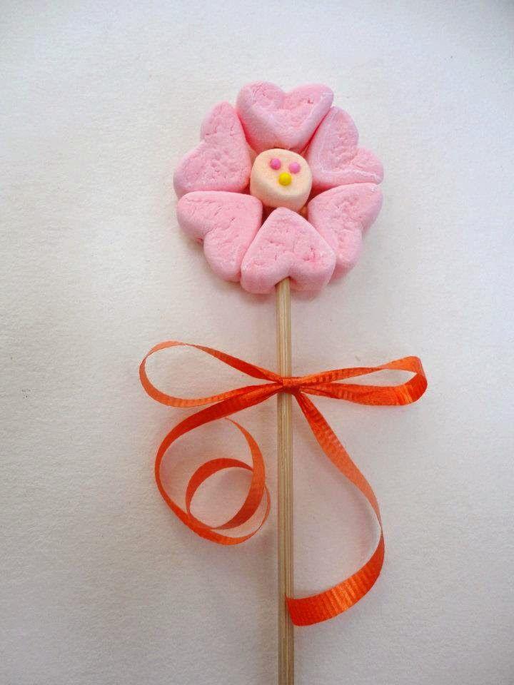 Decoarci n de dulces con masmelos exitosa desde casa - Manualidades desde casa ...