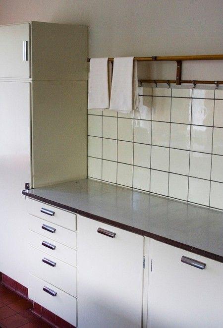1000+ ideeën over Retro Keukens op Pinterest - Klassieke keuken ...