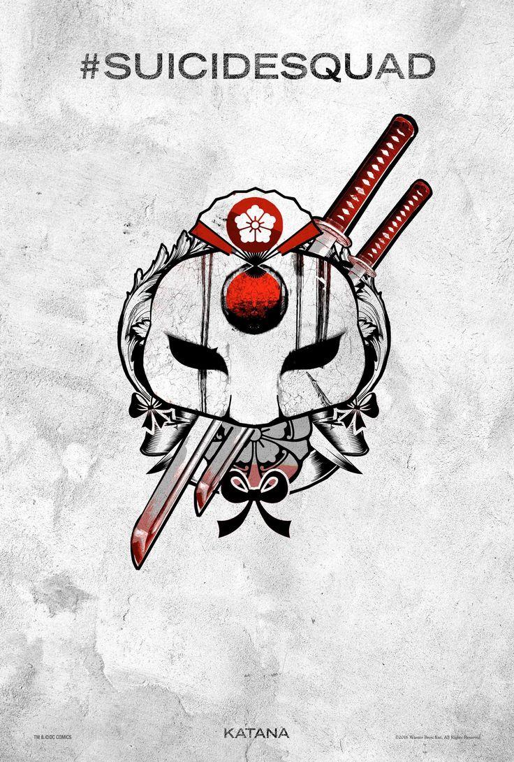 Katana - Suicide Squad Tattoo Poster
