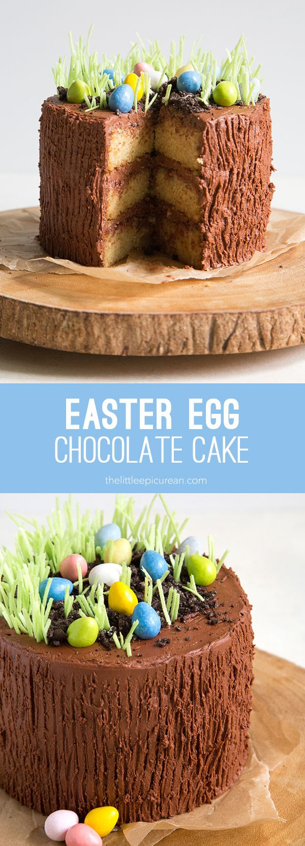 Can you find the eggs?! They are hidden in this Easter egg chocolate cake! Growing up, Easter was a big deal in our house. No only because Easter marked the end of Lent, but also because it often coincided with my dad's birthday. My mom would cook up a big feast of baked ham, twice …