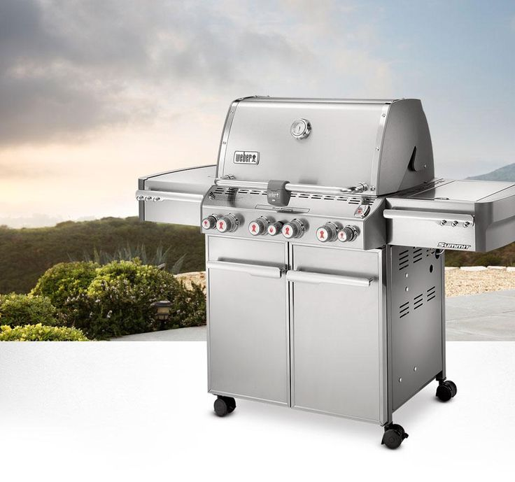 with four main burners and advanced features like a sear station the weber summit gas grill delivers performance time after time