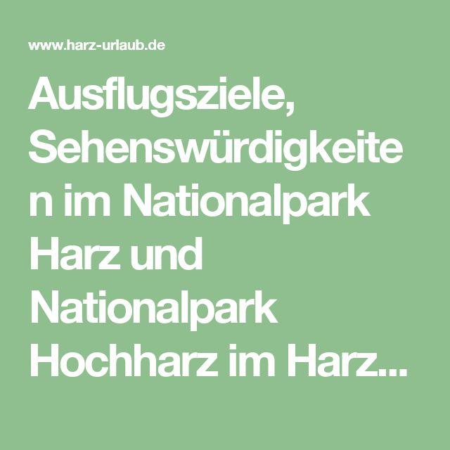Ausflugsziele, Sehenswürdigkeiten im Nationalpark Harz und Nationalpark Hochharz im Harz-Urlaub.de - Der Harz in Bildern, Luchse im Harz, Verein zur Erhaltung der Harzkuh und der Harzziege,