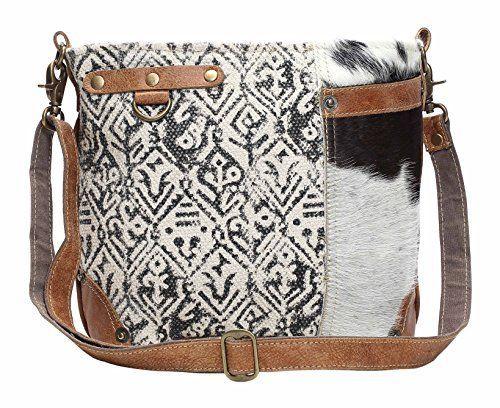 375c08b97932 New Myra Bag Cowhide Cotton Shoulder Bag S-1129 Women Bag. [$59.99 ...