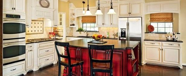 How Outstanding Wooden Traditional Kitchen With Islands And Chairs