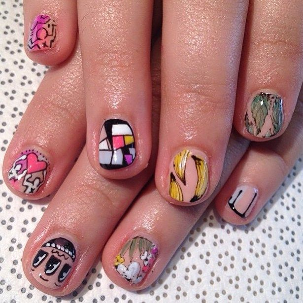 Best Nail Art Salons In Los Angeles: Artsy Manicures: A Guide To Miami's Best Nail Art Salons