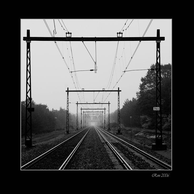 verdwijnpunt van een spoorweg