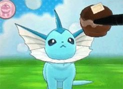 gif gaming pokemon pokemon gif nintendo eevee jolteon flareon vaporeon espeon umbreon leafeon glaceon pocket monsters eeveelutions pkmn Nintendo 3DS my gif D: Pokemon XY pokemon x and y Sylveon pokemon amie