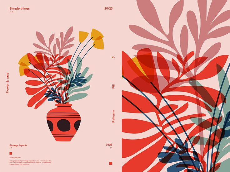 Flowers Vaze Minimal work for the weekend and a st…