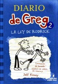 """Ficha de lectura de """"El diario de Greg 2"""" de Jeff Kinney, realizada por Miguel Fontánez"""