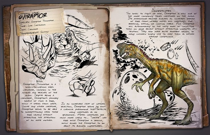 ARK Survival Evolved: Introducing the Oviraptor