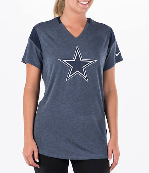 Nike Women's Dallas Cowboys NFL Short-Sleeve Fan T-Shirt