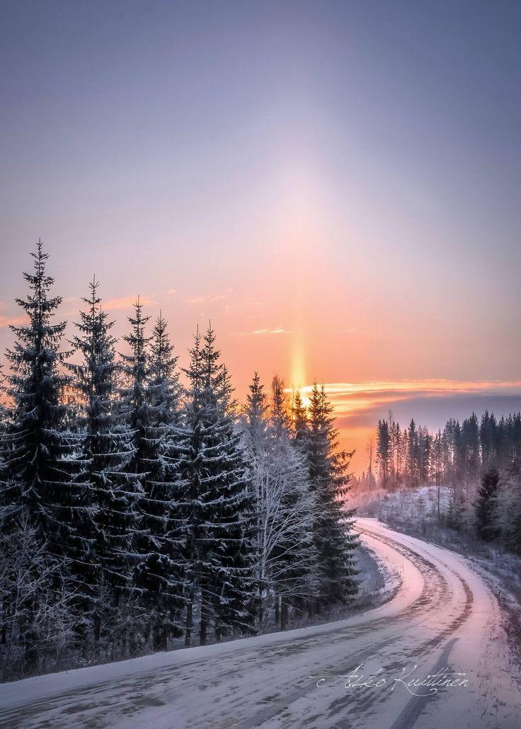 ***Winter road (Finland) by Asko Kuittinen ❄️cr.