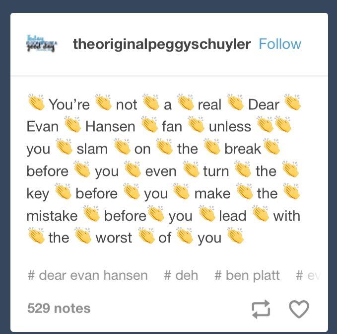 Dear Hansen X Evan Connor Evan