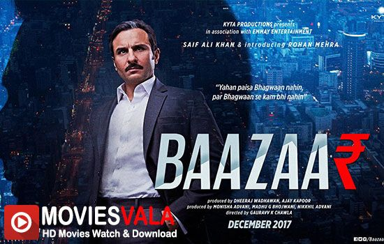 Baazaarwatch bollywood movies online free,Baazaar 2017watch bollywood movies online hd Free Download.Baazaar Latest Bollywood Crime Movie that isGauravv K. Chawla, written byNikkhil Advani. Saif Ali khan is Playing Lead role in this Movie.Baazaar Movie is scheduled to release on 3 Dec 2017 in India. Directed byGauravv K. Chawla Produced byNikkhil Advani Written byNikkhil Advani StarringSaif …