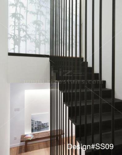 Modern Glass Stairs, Glass Balustrade, Modern Stairs, Custom Design