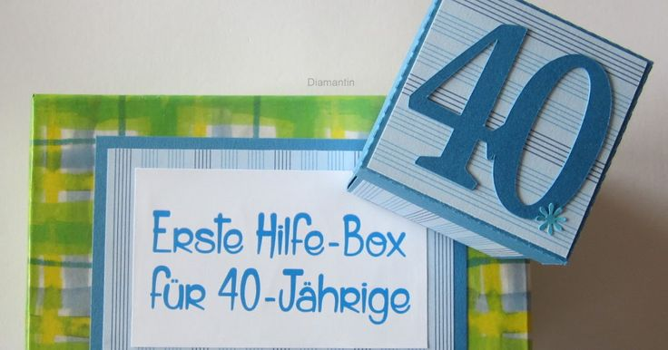 Diamantin´s Hobbywelt: Geburtstagsset zum 40. Geburtstag