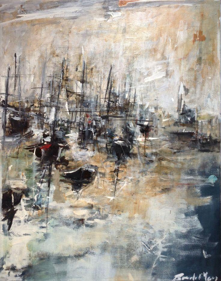 Oil and acrylic on canvas 70cmx50cm 2014