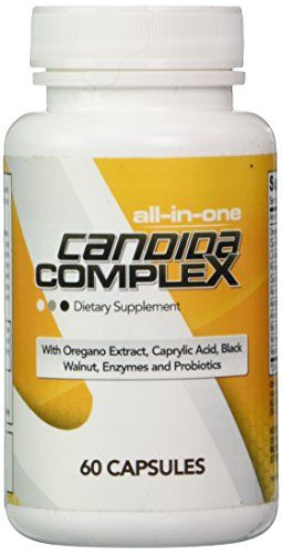 Candida Cleanse Complex ★ All-in-One Yeast Infection Treatment Support / Fungal Overgrowth Defence Formula with Antifungals, Probiotics and Enzymes ★ 100% Premium Hassle-Free Money Back Guarantee! //Price: $19.95 & FREE Shipping //