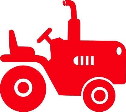 Tractortje Auf strijkapplicaties.nl http://www.pinterest.com/staceysmomm/silhouettes/