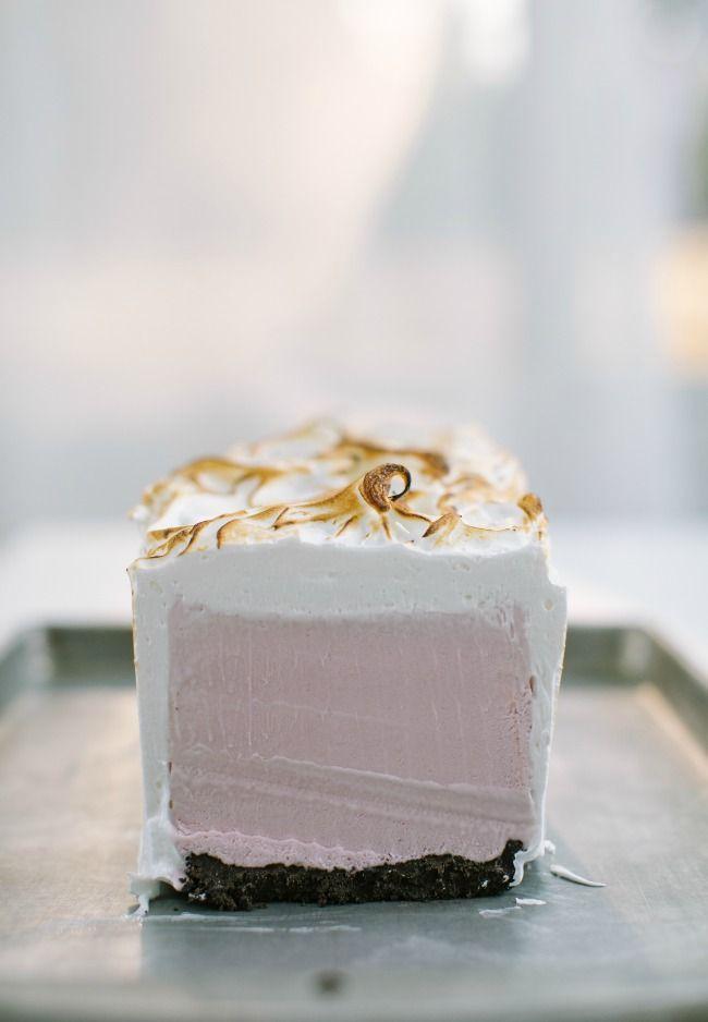 The Vanilla Bean Blog | raspberry crème fraîche ice cream cake