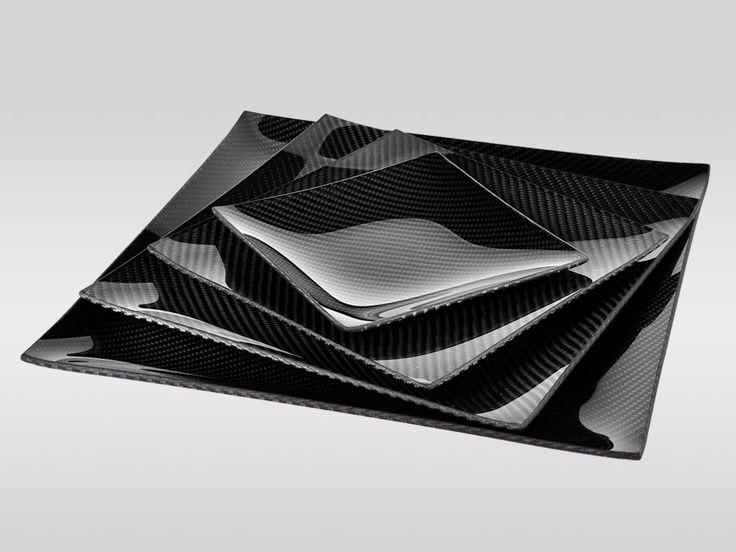 Dobreff Design Carbon Fiber Square Plate