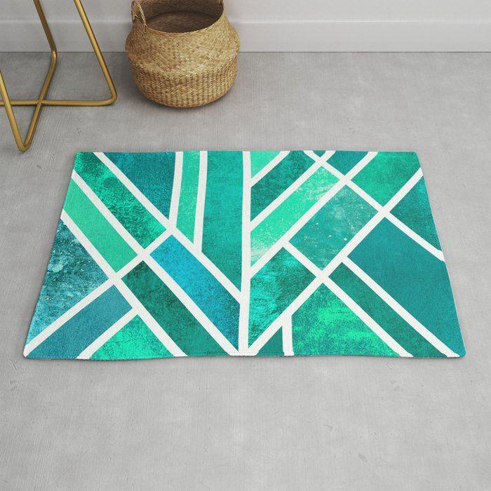 Art Deco Mermaid Rug Rugs Rug Making Magic Carpet