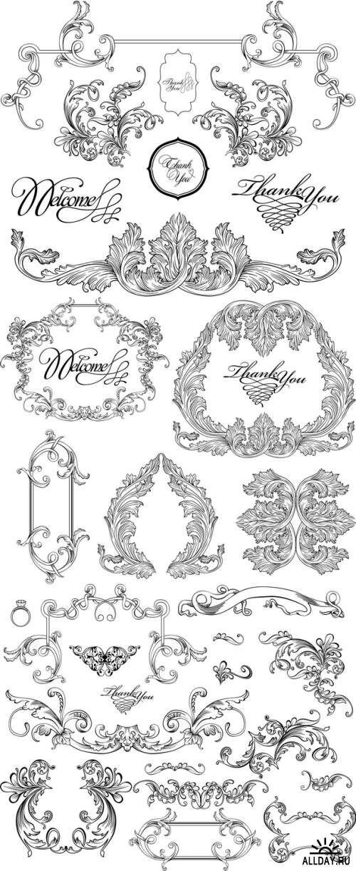 Various Design Elements.10 eps + 10 jpg. 21 Mb.Download