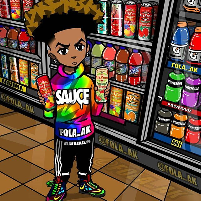 25 best images about trill art on pinterest - Hood cartoon wallpaper ...