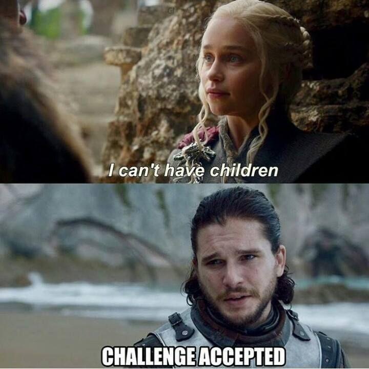 Jon: Challenge accepted