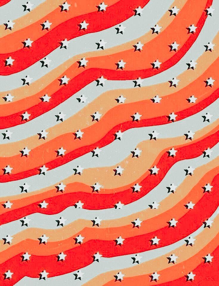 Red Orange Yellow And Blue Star Wallpaper In 2020 Bunte Hintergrunde Iphone Hintergrund Sommer Hintergrund Iphone