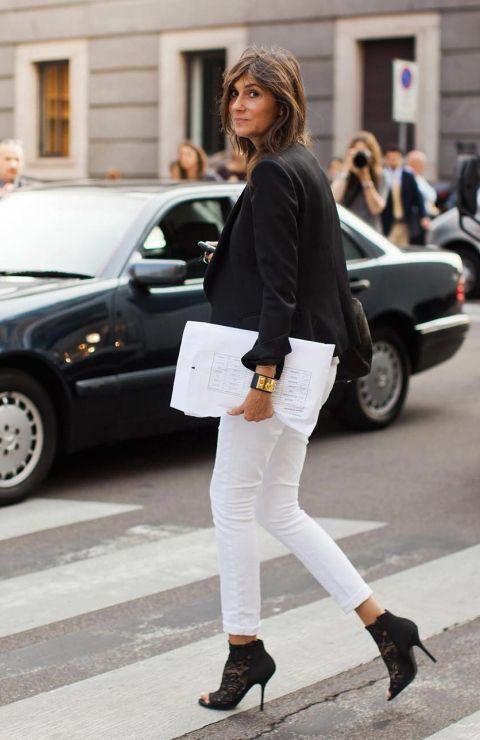 oversized white clutch