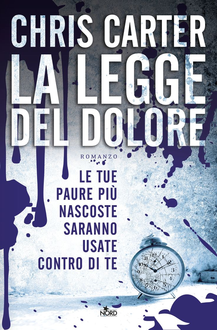 Chris Carter, La legge del dolore