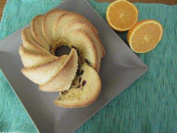 Osvěžující hrnková bábovka s chutí pomeranče
