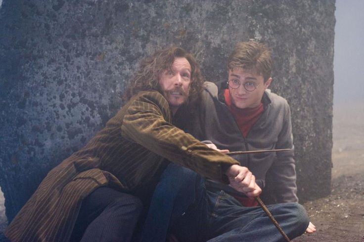 HARRY POTTER AND THE ORDER OF THE PHOENIX, from left: Gary Oldman, Daniel Radcliffe, 2007. ©Warner Bros.