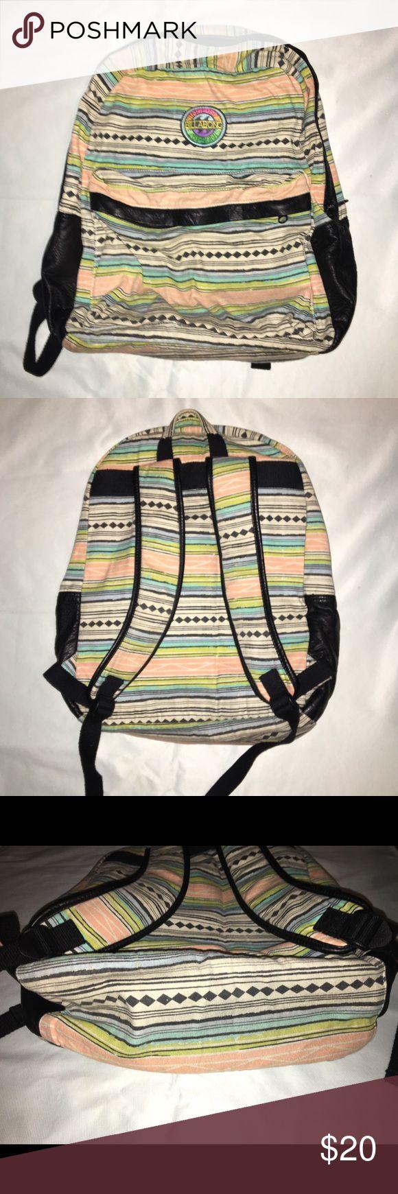 Billabong Backpack Billabong multicolored print ba…