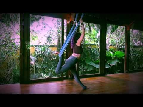 aerial yoga vinyasa sequence  youtube  aerial yoga