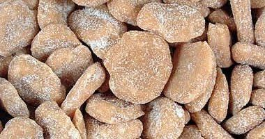 Grays Toffee Tea Cakes - real old fashioned sweet toffee almondy discs - as originally made by Squirell Horn confectionery of Stockport many years ago....