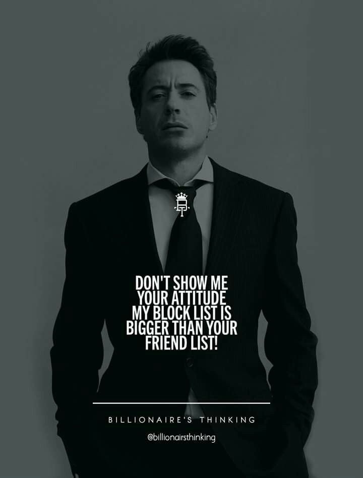 Image result for men attitude quotes