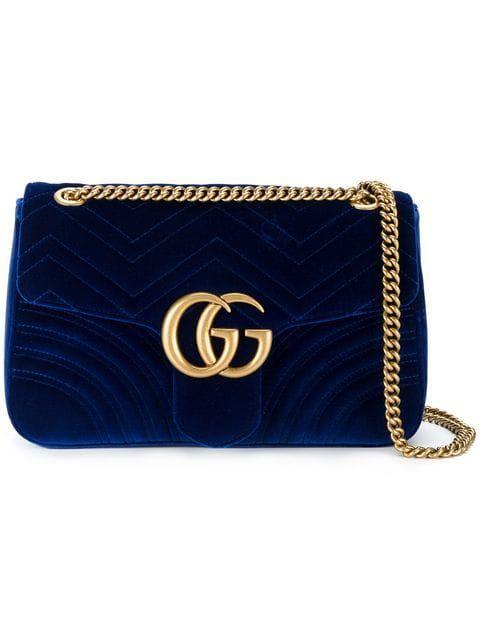 c3523ef1bdd Shop Gucci - Gg Marmont Shoulder Bag
