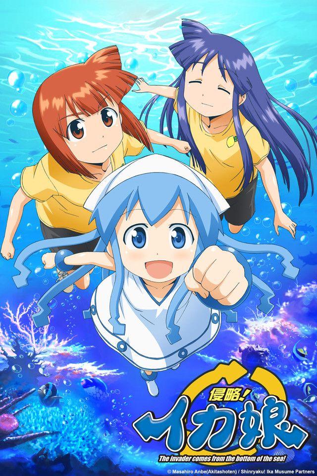 Crunchyroll - Squid Girl Full episodes streaming online for free
