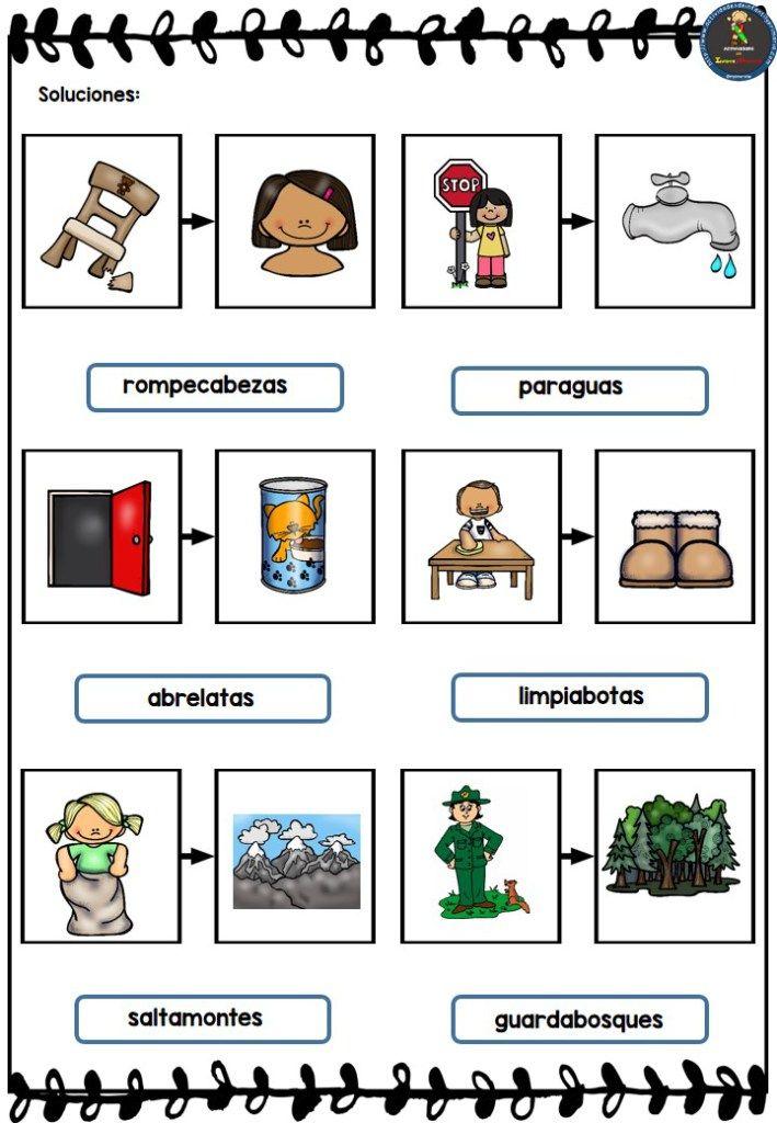 15 mejores imgenes de lengua castellana 3 en pinterest trabajamos las palabras compuestas en primaria fandeluxe Gallery