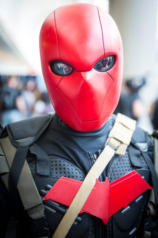 Red Hood Cosplay - #SDCC San Diego Comic Con 2014