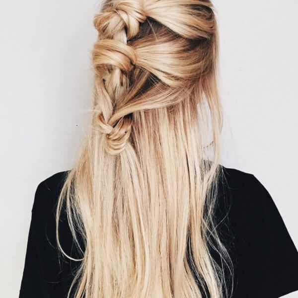 Top Knot Extensions TK Clip-Ins 20in color 18/613