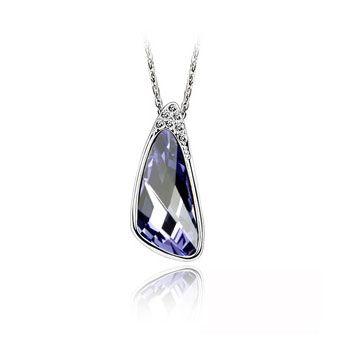 Swarovski Crystal Necklace - Distance From The Cloud From Crystaljewelryuk.com