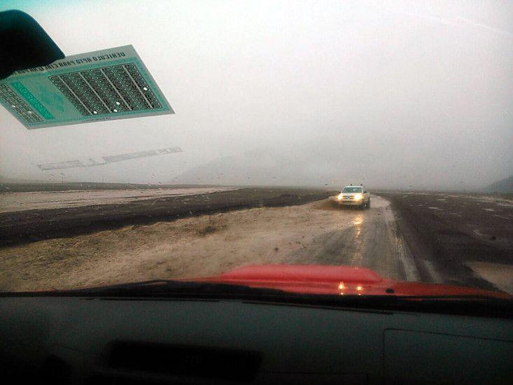 FOTOS | Llueve sobre mojado en Taltal: nuevo alud tiene dividida a la comuna | El Dínamo