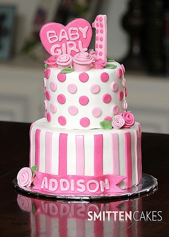 Birthday Cakes For 1 Year Old Baby Girl Images Higtwallaper