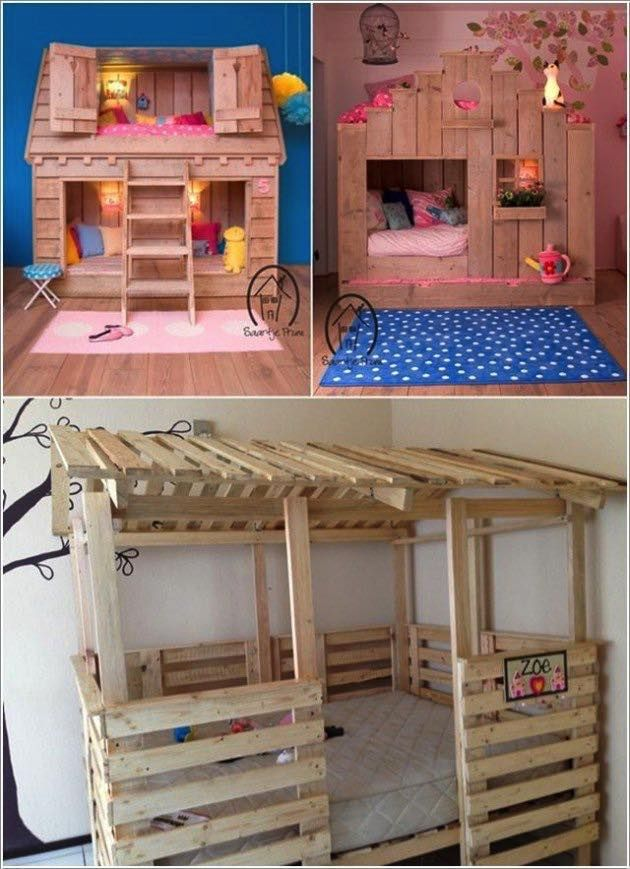 Top 30 best DIY ideas for pallet furniture for your kids