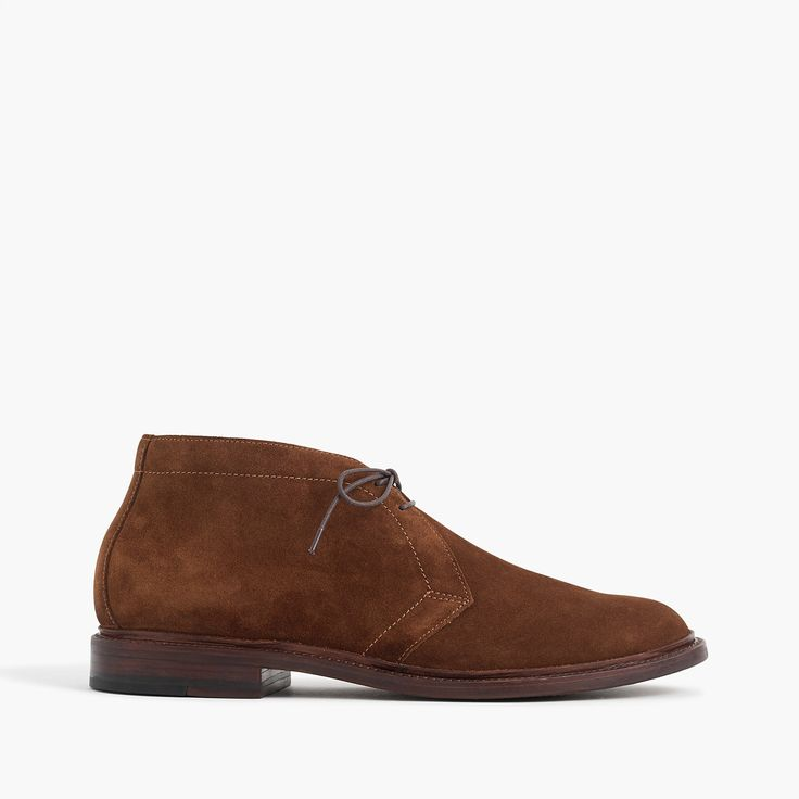 Crew - Ludlow chukka boots in suede