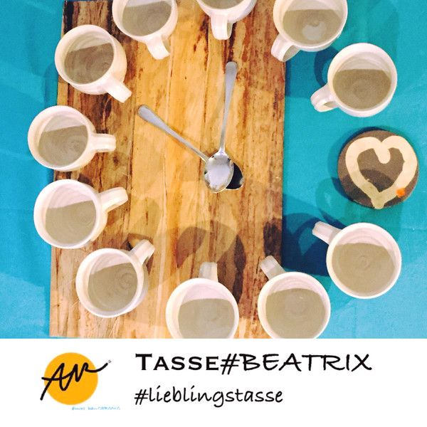 Becher & Tassen - SET! Tasse#BEATRIX (12 Stück) - ein Designerstück von KERAMIKSTUDIO_ANNE_WERNER bei DaWanda